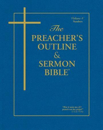 KJV Preacher's Outline & Sermon Bible: Numbers (Paperback)