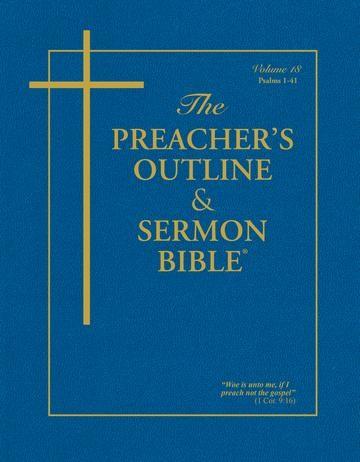 KJV Preacher's Outline & Sermon Bible: Psalms 1-41 (Paperback)