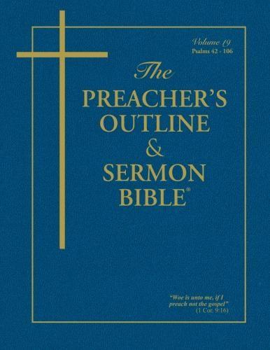 KJV Preacher's Outline & Sermon Bible: Psalms 42-106 (Paperback)