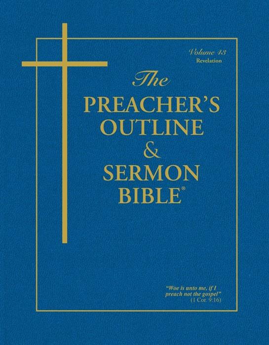 KJV Preacher's Outline & Sermon Bible: Revelation (Paperback)