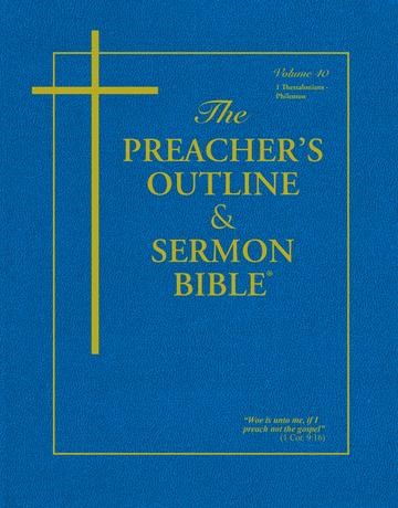 KJV Preacher's Outline & Sermon Bible: Volume 40 (Paperback)