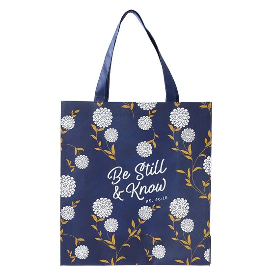 Tote Shopping Bag: Be Still (General Merchandise)