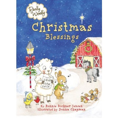 Really Woolly Christmas Blessings (Board Book)