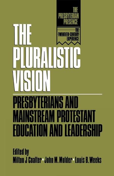 Pluralistic Vision (Paperback)