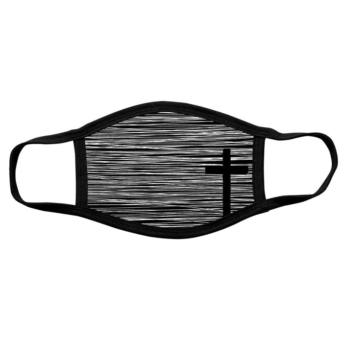 Face Mask: Cross (General Merchandise)