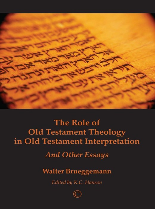 The Role of Old Testament Theology (Paperback)