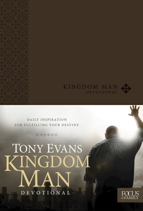 Kingdom Man Devotional (Imitation Leather)