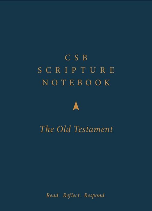 CSB Scripture Notebook, OldTestament Set (Paperback)