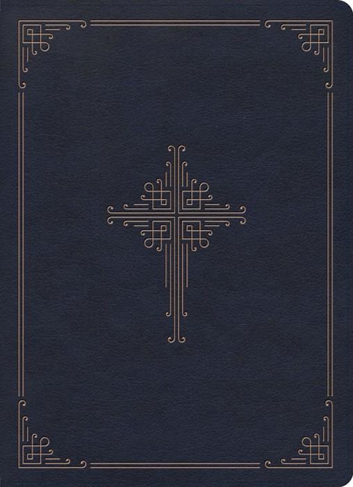 CSB Ancient Faith Study Bible, Navy LeatherTouch (Imitation Leather)