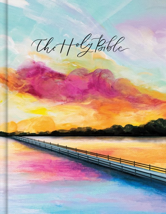 CSB Notetaking Bible, Hosanna Revival Edition, Lake (Hard Cover)