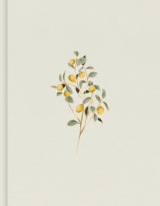 CSB Notetaking Bible, Hosanna Revival Edition, Lemons (Hard Cover)