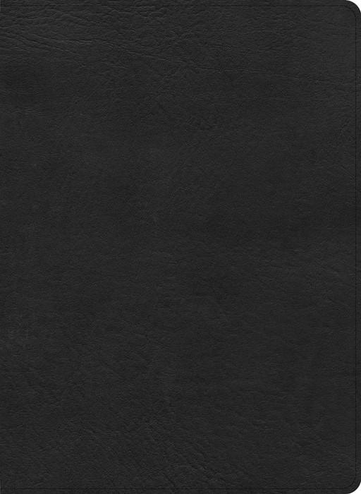 CSB Single-Column Wide-Margin Bible, Black LeatherTouch (Imitation Leather)