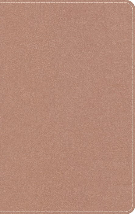 CSB On-The-Go Bible, Personal Size, Rose Gold LeatherTouch (Imitation Leather)