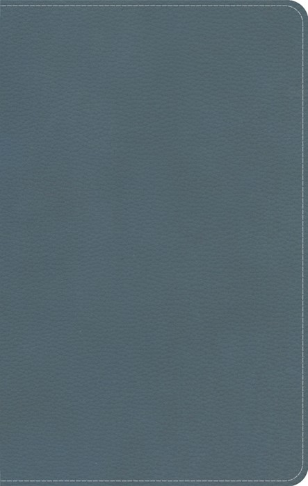 CSB On-The-Go Bible, Personal Size, Steel Blue LeatherTouch (Imitation Leather)