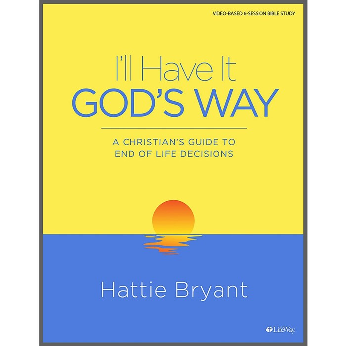 I'll Have it God's Way Bible Study Book (Paperback)