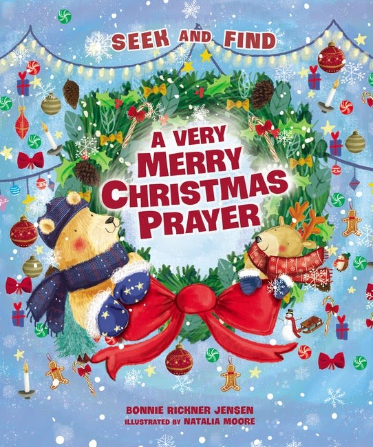 Very Merry Christmas Prayer Seek and Find, A (Board Book)