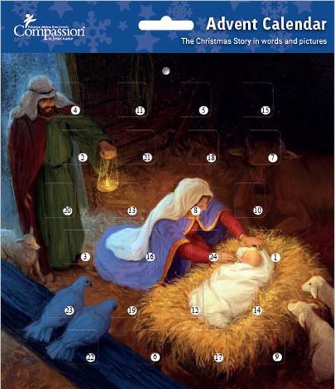 Holy Family Advent Calendar (Calendar)