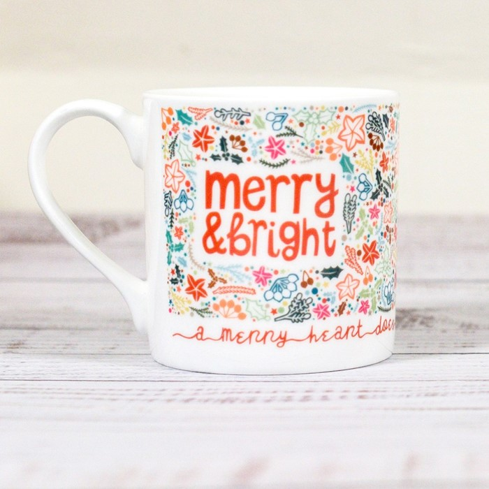 Merry and Bright Christmas Mug (General Merchandise)