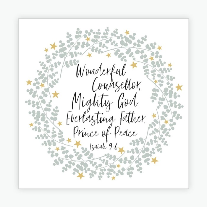 Wonderful Counsellor Christmas Cards (pack of 10) (Cards)