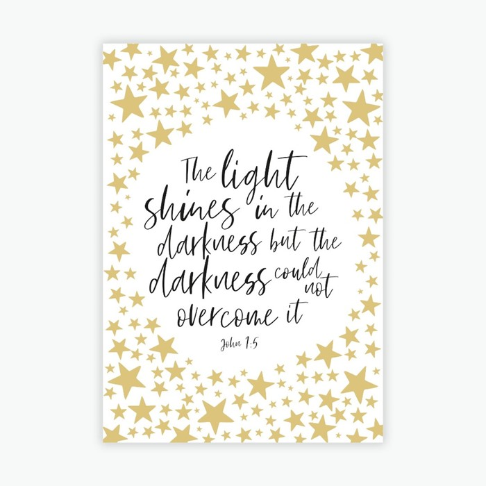 Light Shines Christmas Cards (pack of 10) (Cards)