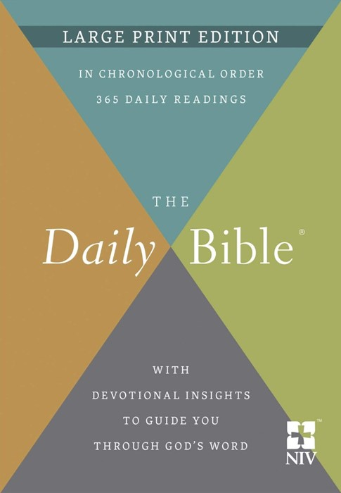 The Daily Bible® Large Print Edition (Hard Cover)