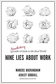 Nine Lies About Work (Hard Cover)