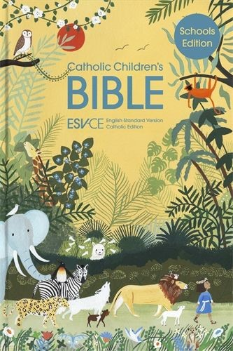 ESV-CE Catholic Bible, Anglicized Schools Edition (Hard Cover)
