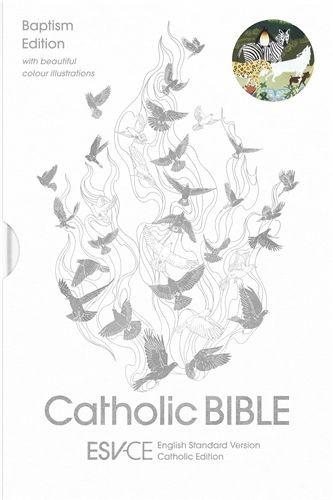 ESV-CE Catholic Bible, Anglicized Baptism Edition (Paperback)