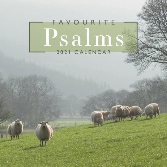 2021 Calendar: Favourite Psalms (Calendar)
