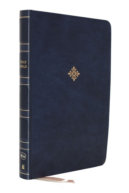 NKJV Reference Bible, Super Giant Print, Blue (Imitation Leather)