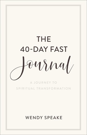 The 40-Day Fast Journal (Paperback)