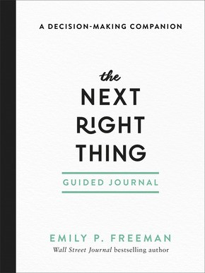 The Next Right Thing Guided Journal (Paperback)