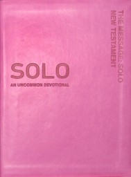 The Message Solo New Testament (Leather Binding)