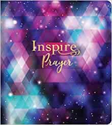 NLT Inspire PRAYER Bible (Softcover) (Paperback)