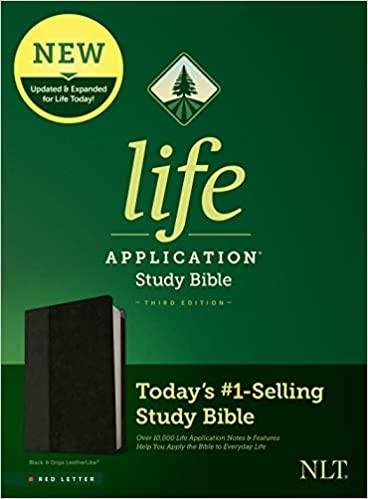 NLT Life Application Study Bible, Third Edition, Black (Imitation Leather)