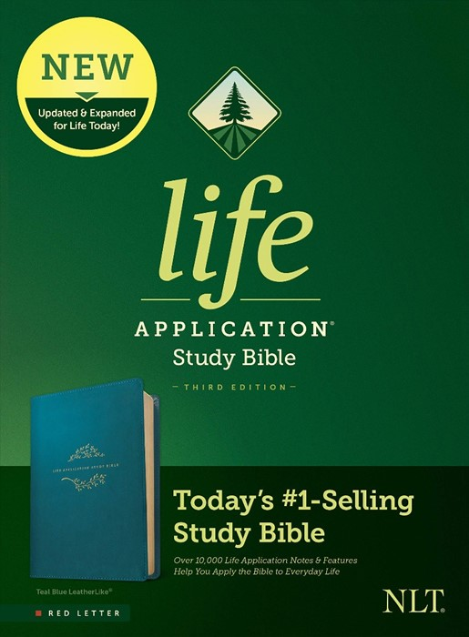 NLT Life Application Study Bible, Third Edition, Teal (Imitation Leather)