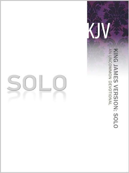 KJV Solo Devotional (Paperback)