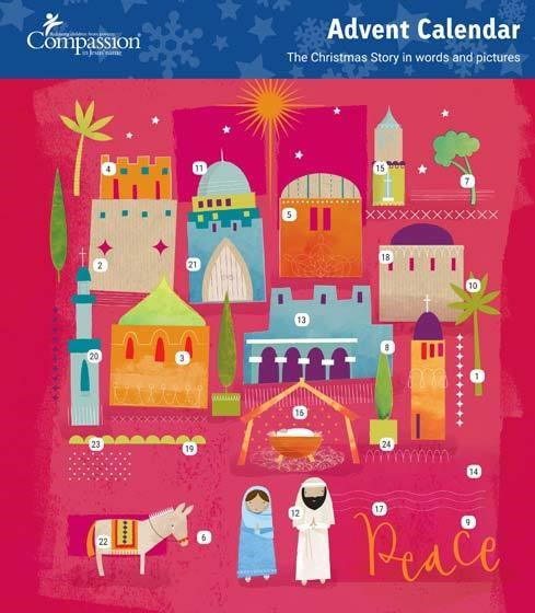 Peace Advent Calendar (Calendar)