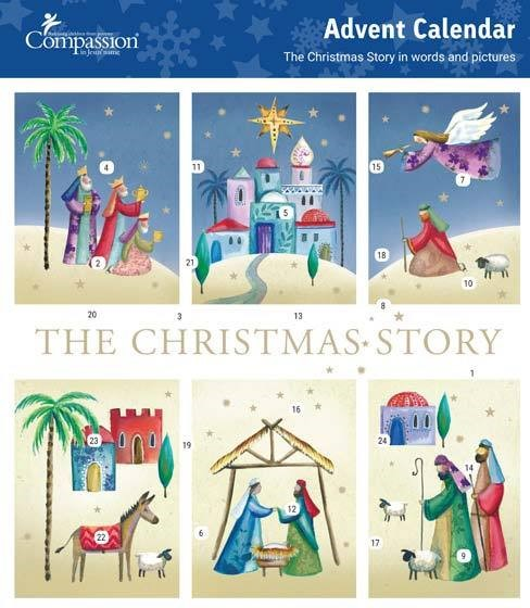 Christmas Story Advent Calendar (Calendar)
