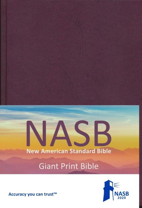 NASB 2020 Giant Print Text Bible, Hardcover (Hard Cover)