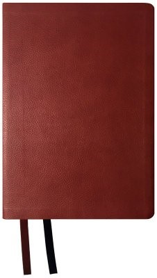 NASB 2020 Large Print Ultrathin Reference Bible, Maroon (Imitation Leather)