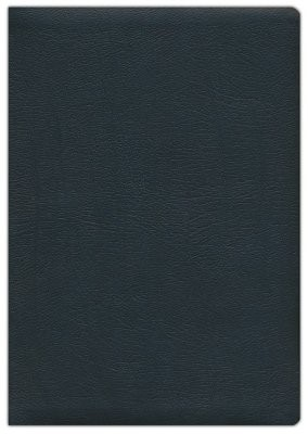 NASB 2020 Large Print Ultrathin Reference Bible, Black (Genuine Leather)