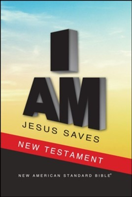 NASB 2020 Jesus Saves New Testament (Paperback)