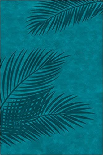 TPT Large Print New Testament, Teal (Imitation Leather)