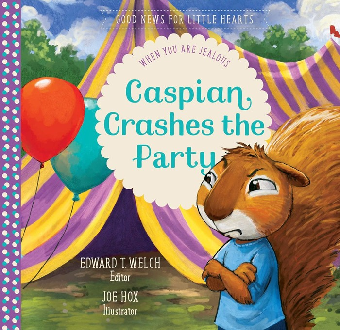 Caspian Crashes the Party (Hard Cover)