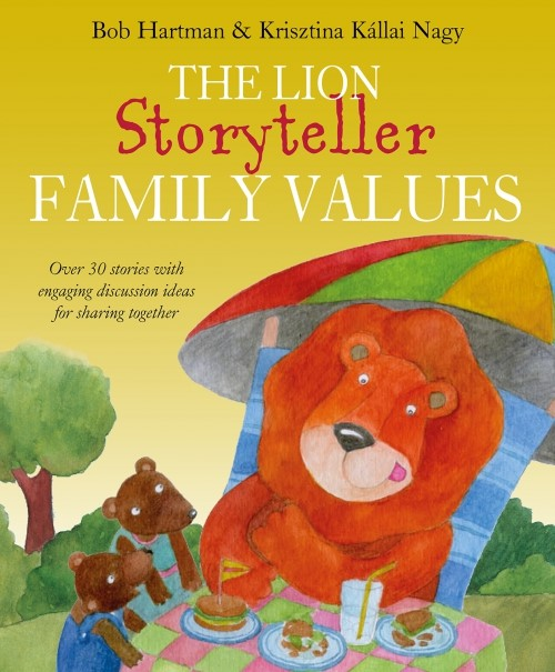 The Lion Storyteller Family Values (Hard Cover)