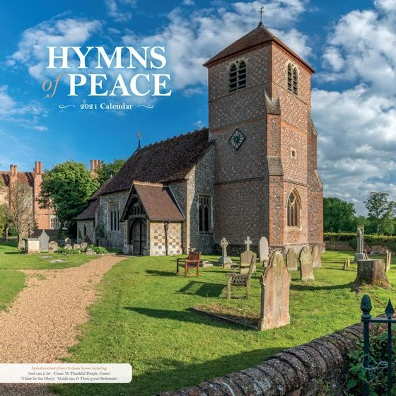 2021 Calendar: Hymns of Peace (Calendar)
