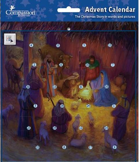 Shepherds Advent Calendar (Calendar)