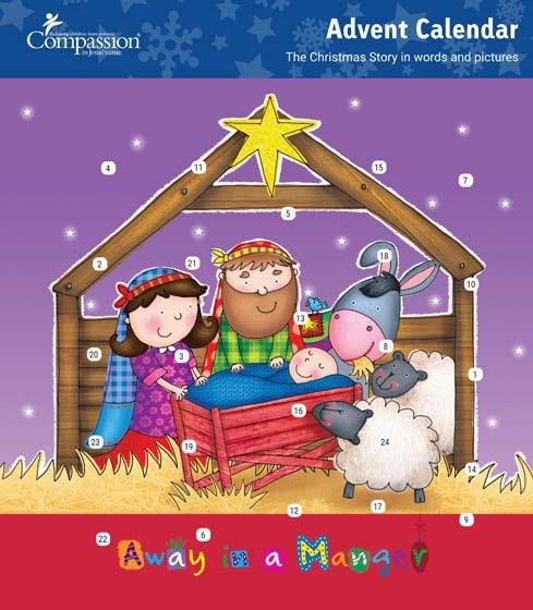 Manger Advent Calendar (Calendar)