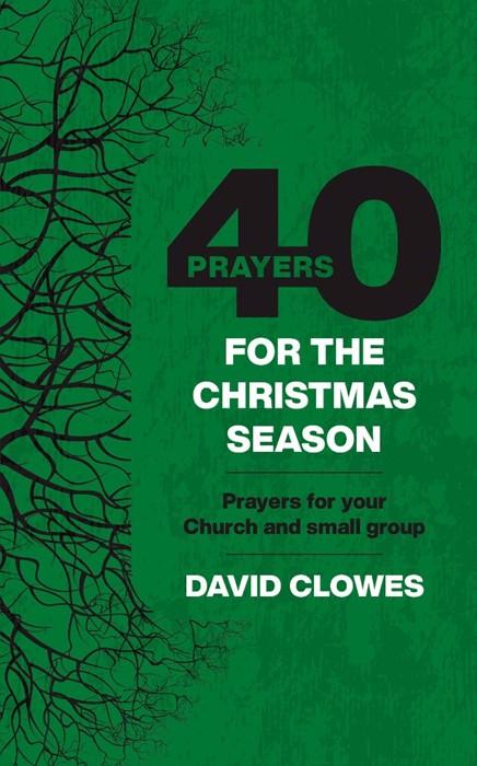 40 Prayers for the Christmas Season (Paperback)